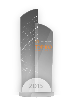 top 100 innovator trophy